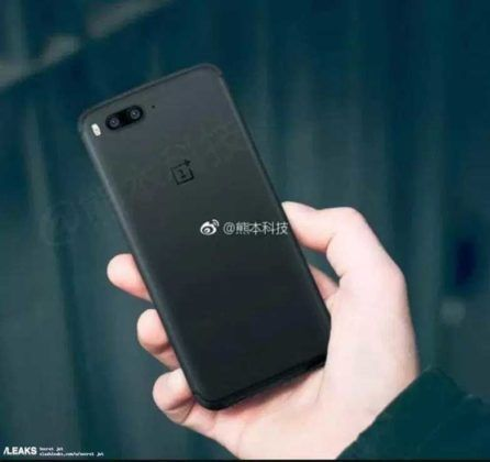 OnePlus 5 design leaked again