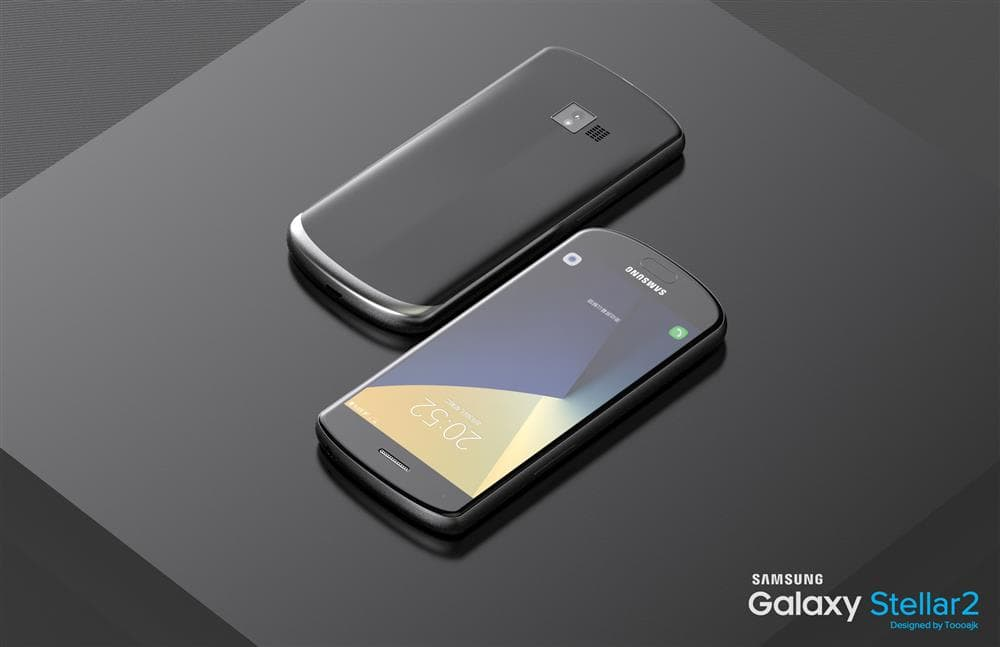 Concept of the Galaxy Stellar 2 with a 4.5-inch Display, Snapdragon 626 SoC Surfaces
