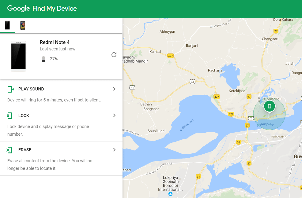 How to use 'Find my Device' to reset lock pattern & track Lost Android device.