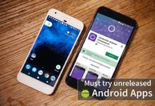 Top 10 must try unreleased Android Apps from PlayStore
