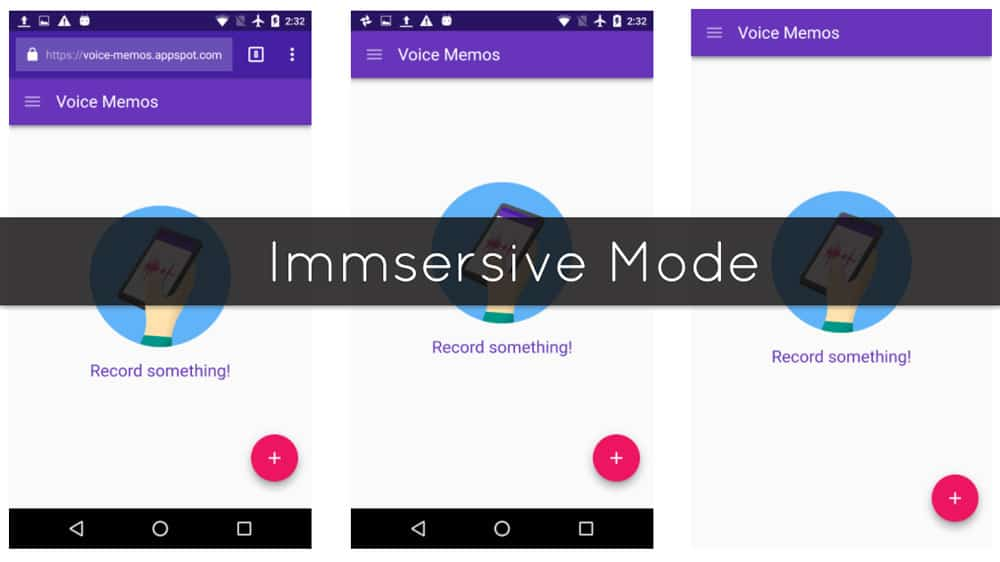 Android Immersive Mode