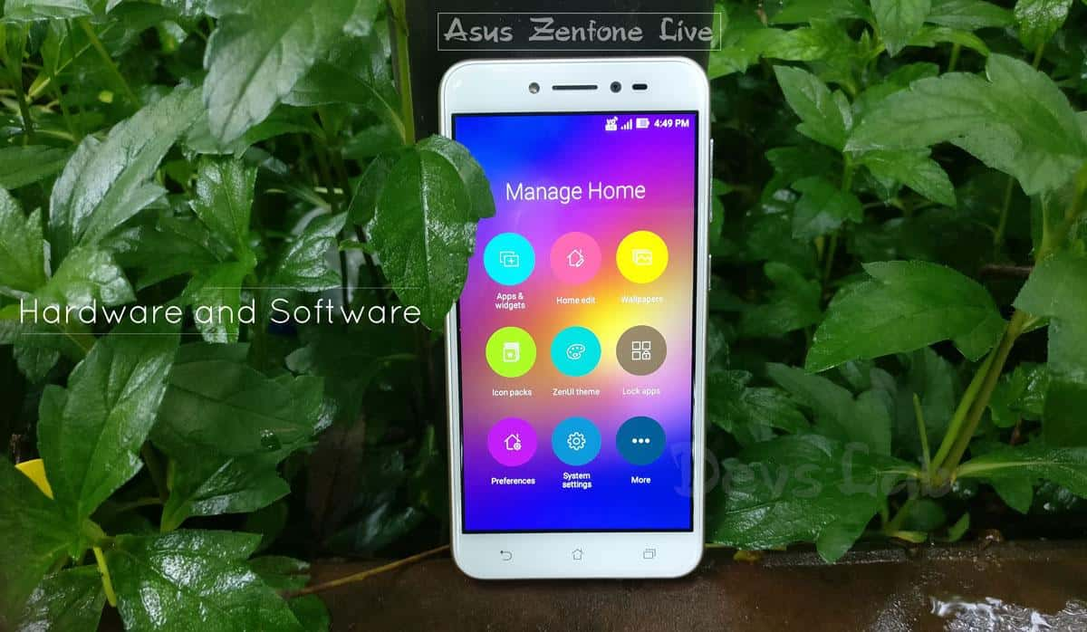 Asus Zenfone Live Review - Hardware and Software