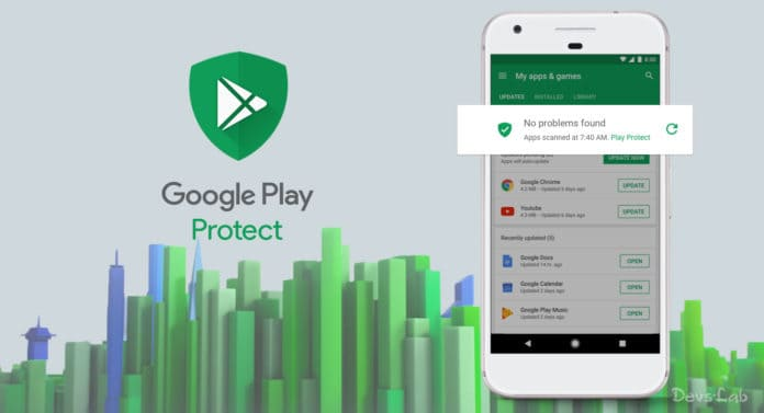 Everything about Google Play Protect and How to enable in Android device