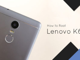 How to Root Lenovo K6 Power