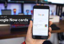 How to get Google Now Cards on the Homescreen on any Android device without Rooting