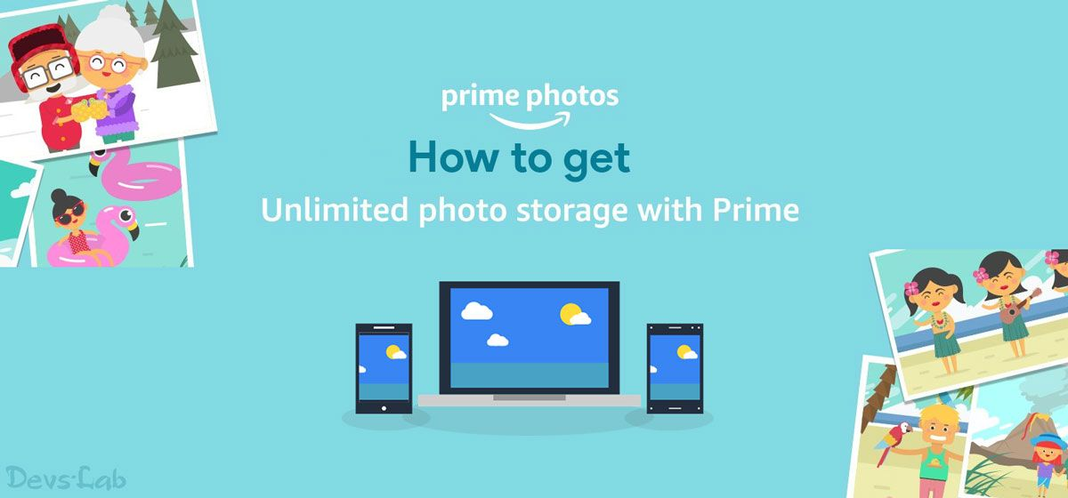 How to setup and use Amazon Prime Unlimited Photo storage.