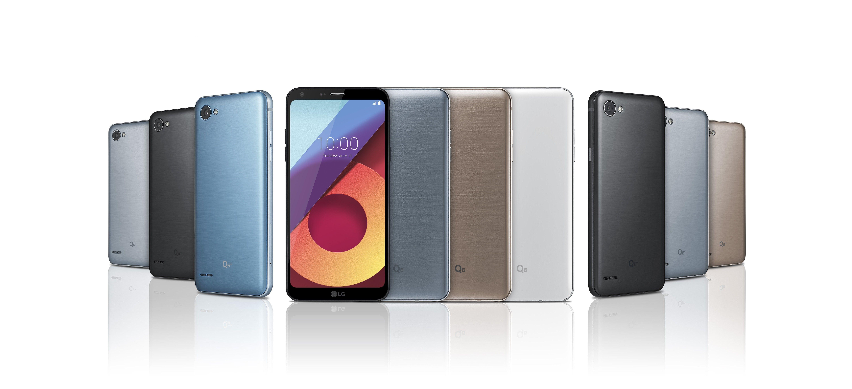 The LG Q6 range