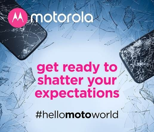 Motorola 25 July invite