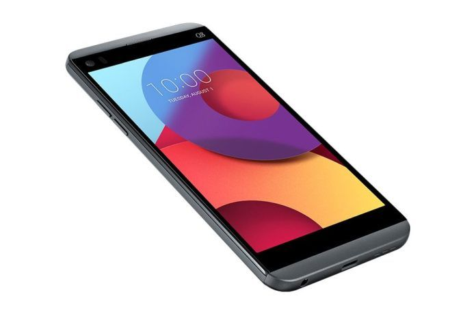 LG Q8 front angle profile