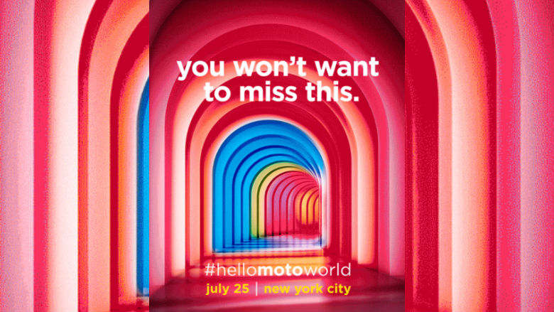 Motorola has sent out invites for an event in New York on ...