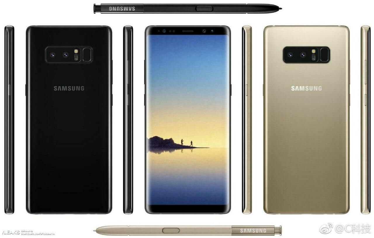 The Samsung Galaxy Note8
