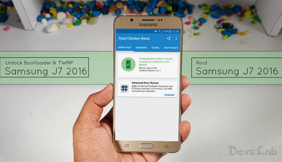 How to Unlock, Install TWRP and Root Samsung J7 (2016) - DevsJournal