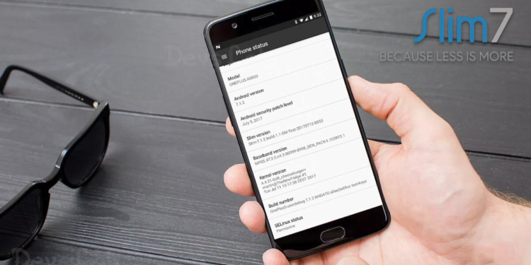 How to install Slim7 ROM on OnePlus 5