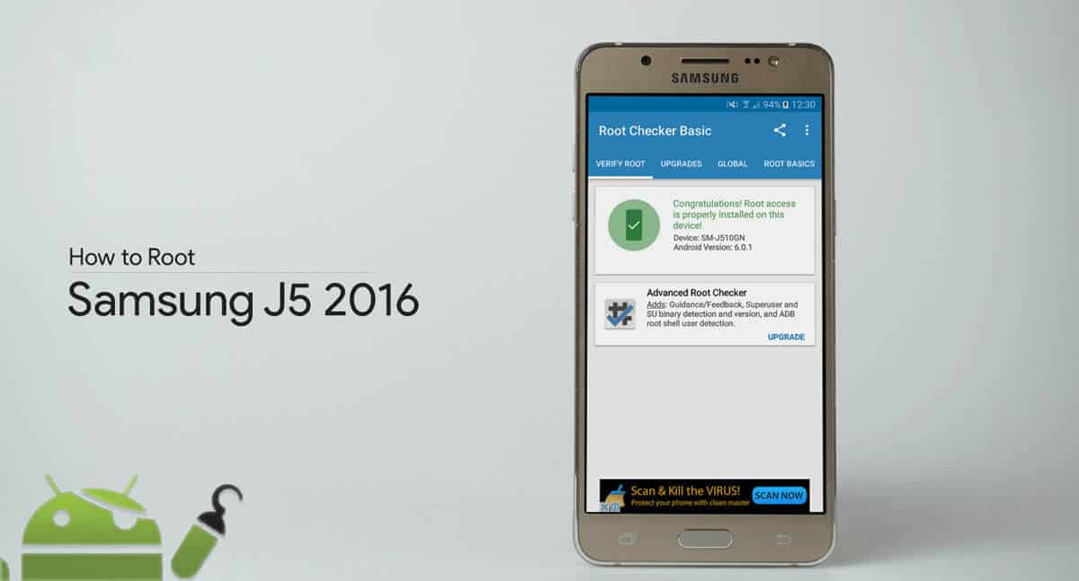 How to root Samsung J5 2016