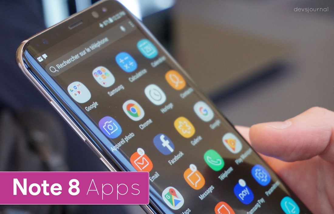 Install Samsung Galaxy Note 8 Apps on any Android
