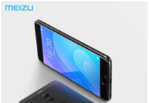 Meizu M6 Note official