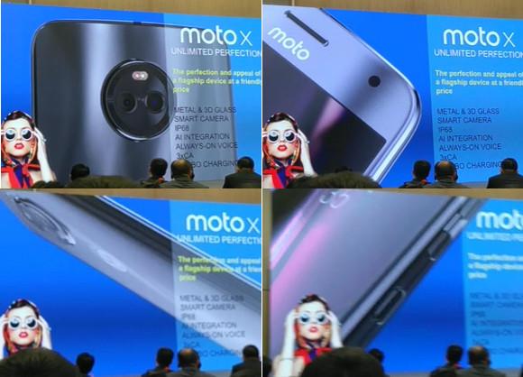 Motorola MOTO X4 presentation leak