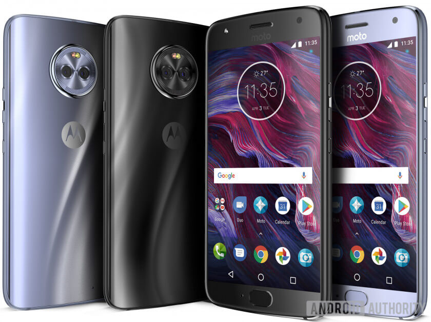Motorola MOTO X4 press release first