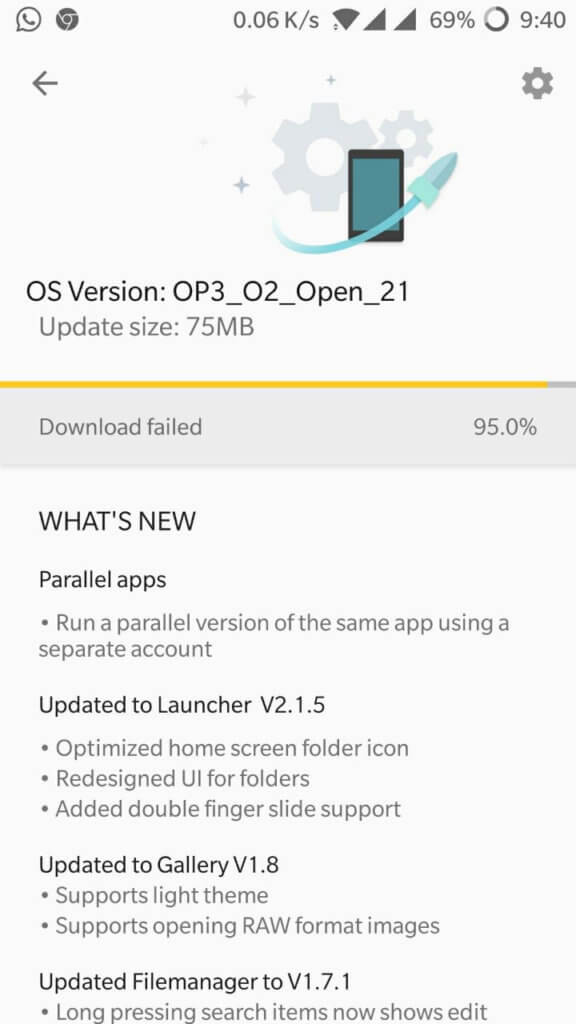 OnePlus 3 and 3T Open Beta 21 and 12 Update