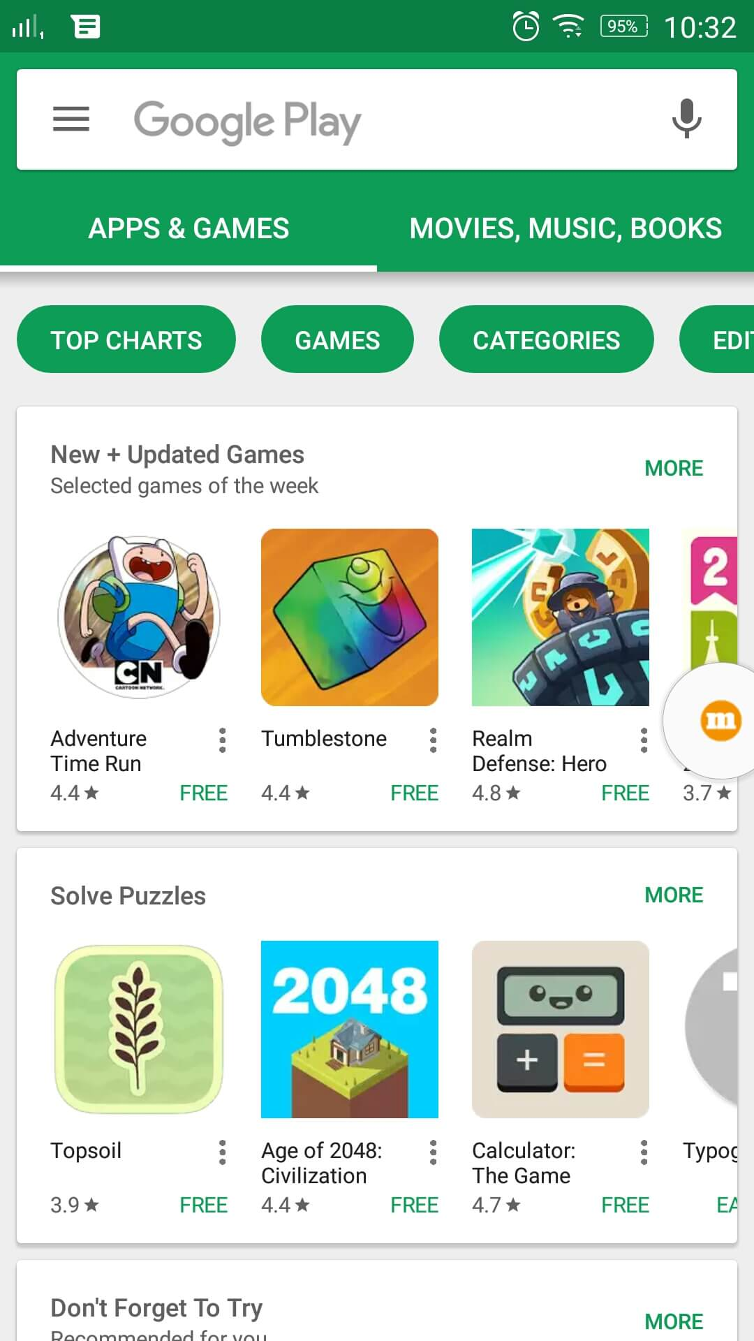 The Play Store