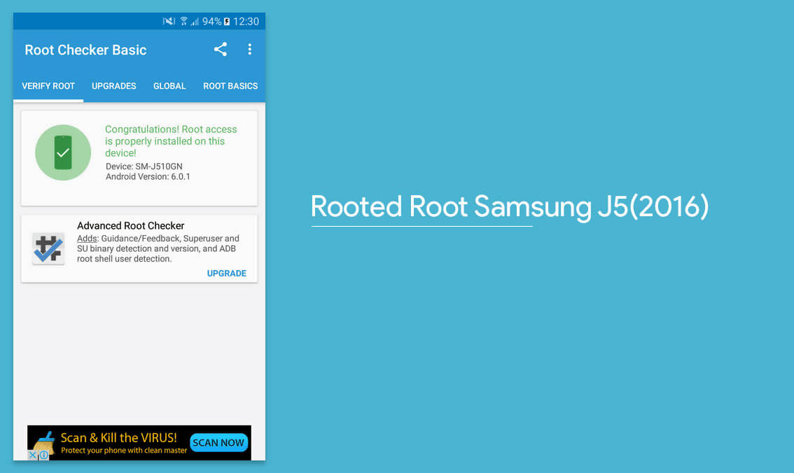 Steps to Root Samsung J5 (2016)