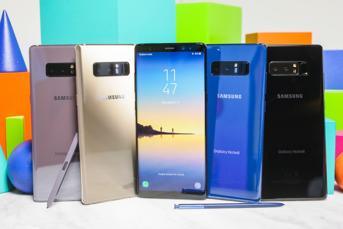 Samsung Galaxy Note8 Hero