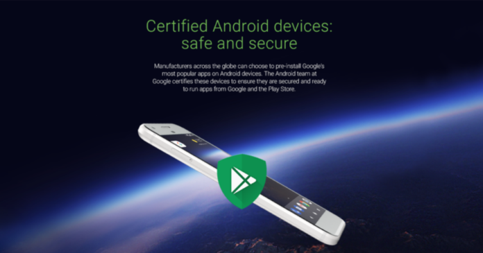 Google Certified Android devices programme