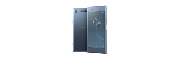 SONY Xperia XZ1 Hero Profile front and back