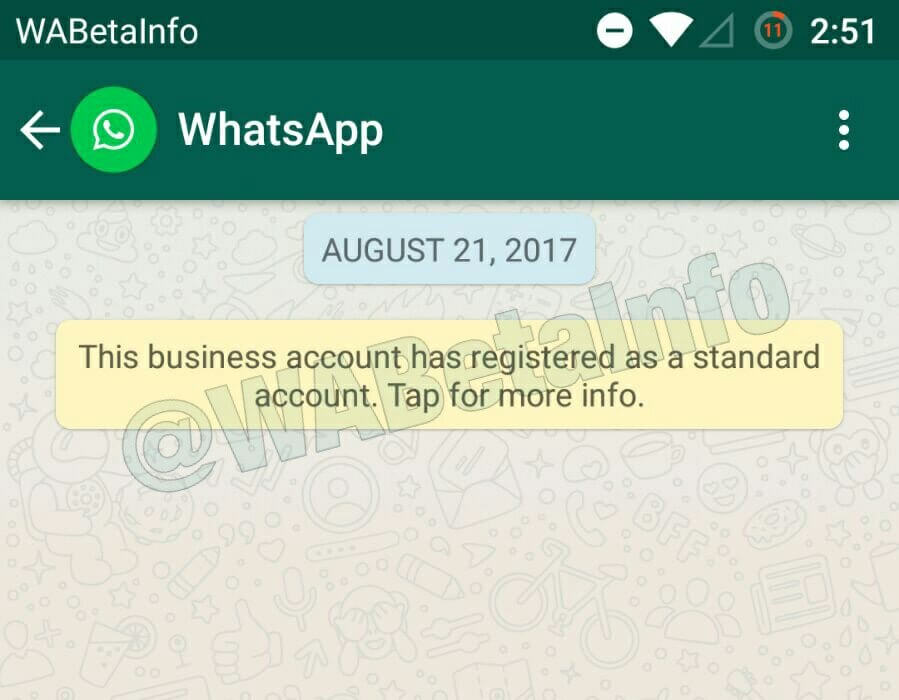 WhatsApp Business Feature