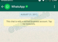 WhatsApp Business feature spotted in latest Whatsapp BETA update for Android