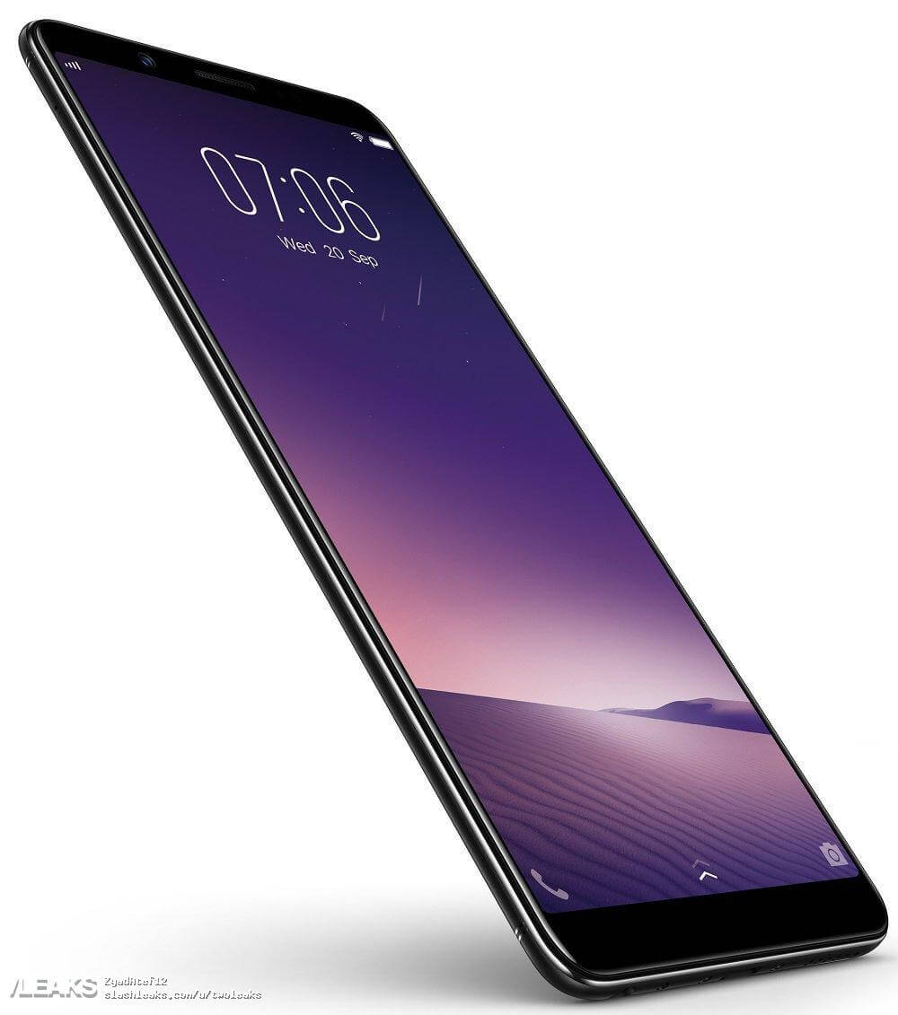 VIVO V7+ front profile