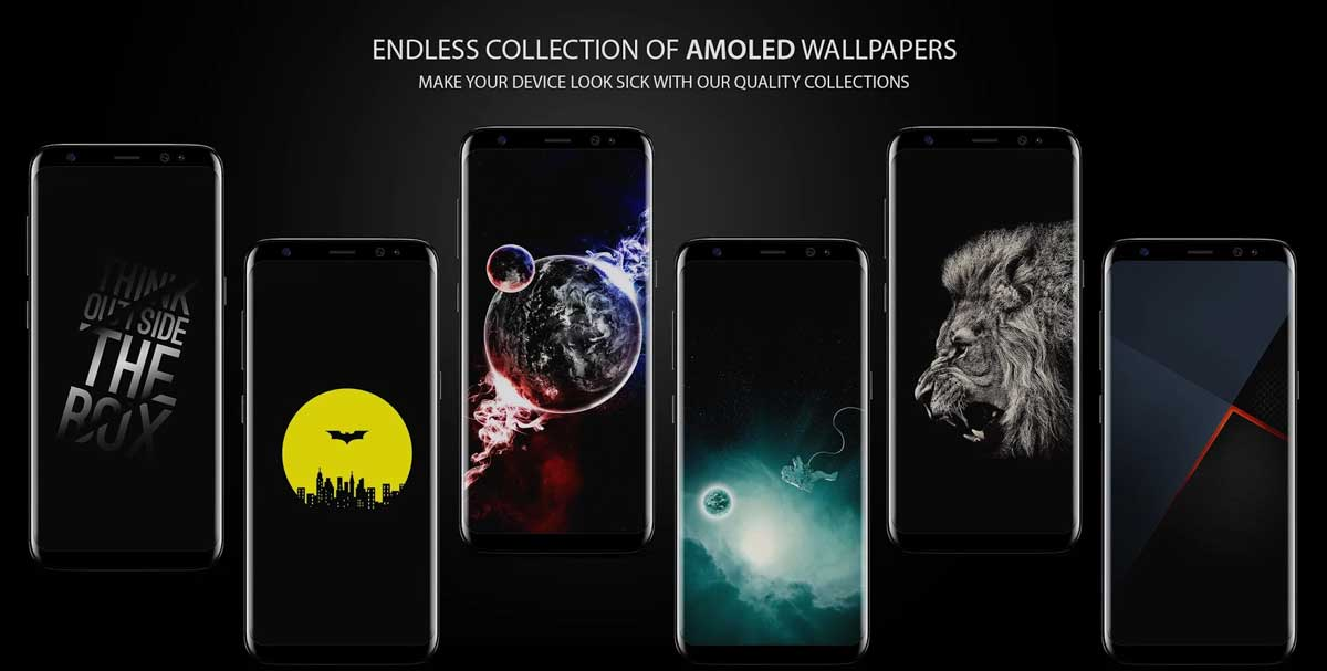 Darkops : AMOLED Wallpapers