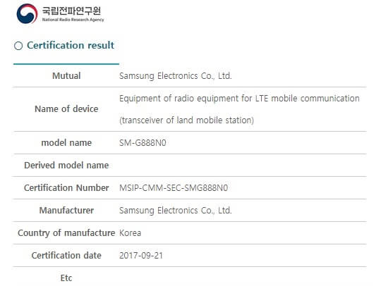 Samsung's foldable phone receives radio certification; launching soon?