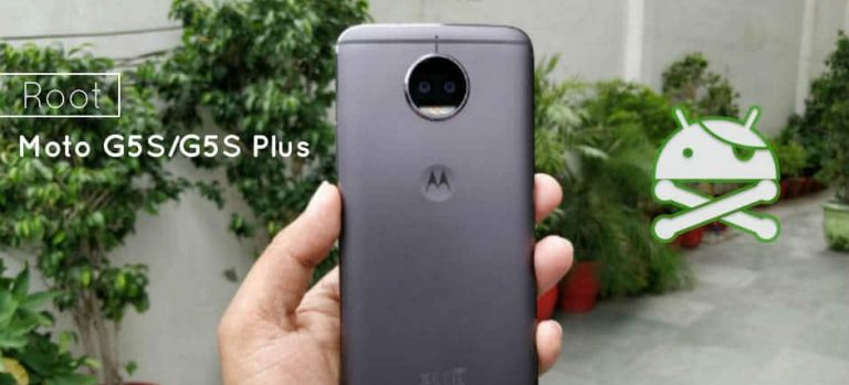 How to Root Moto G5S and G5S Plus