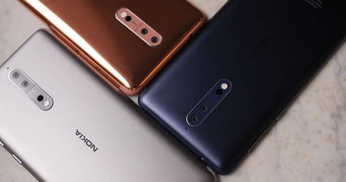 Upgraded Nokia 8 Planned For Release