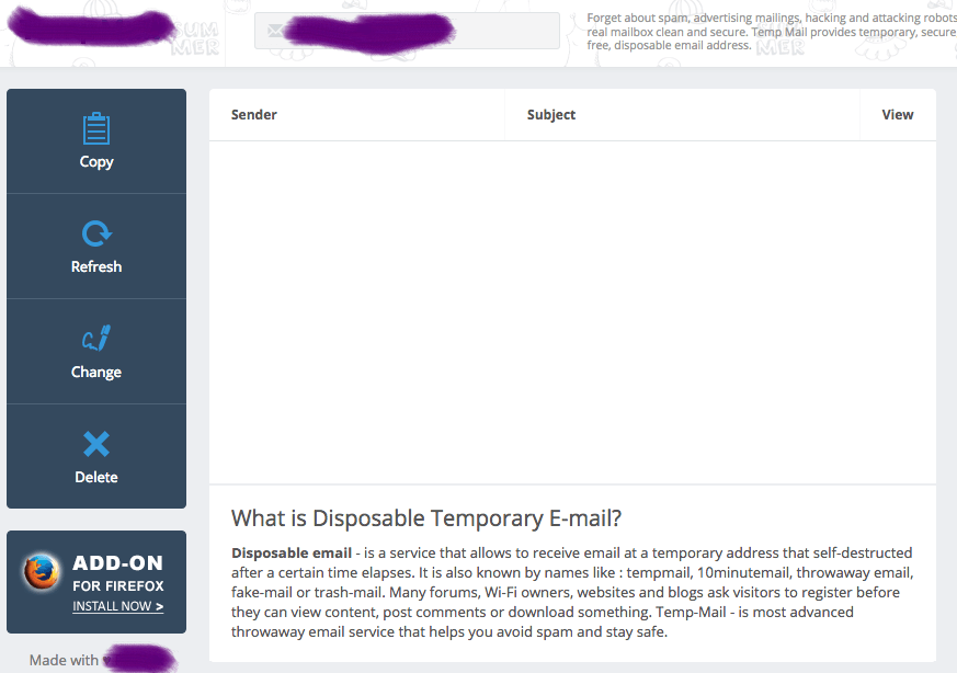 temporary email_新闻快搜