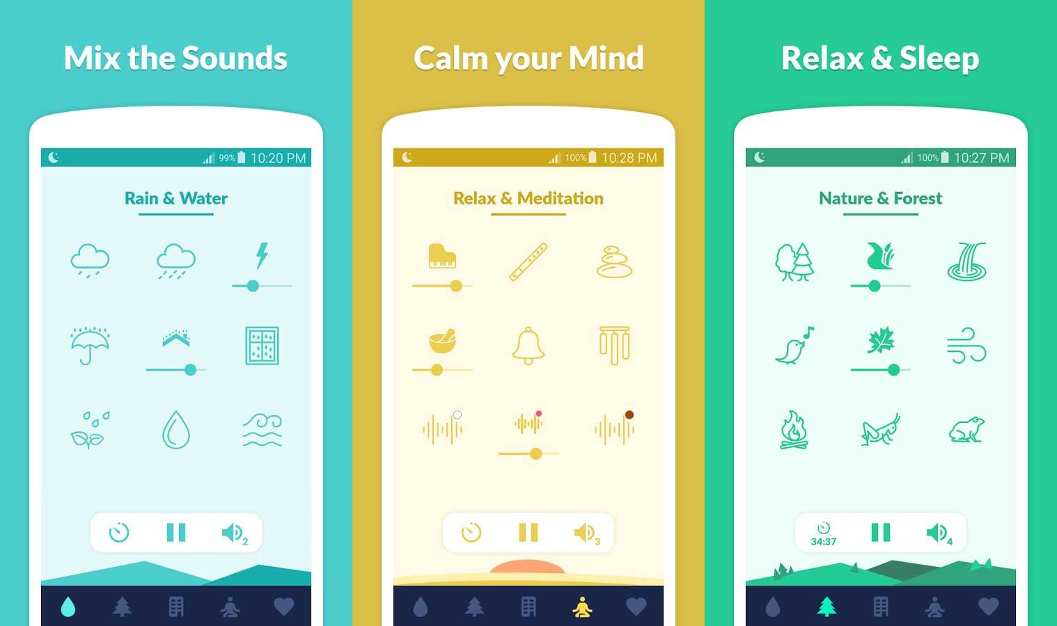 14 Best Android & iOS Apps to Sleep, Relax or reduce Anxiety