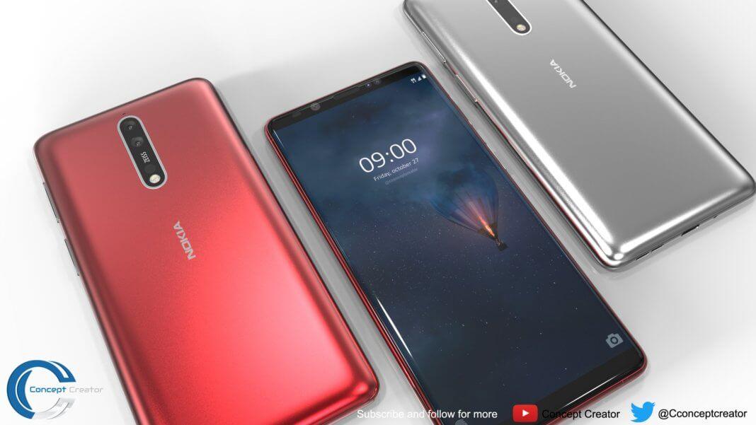 Nokia 9, Nokia 2 leaks in image, full design revealed