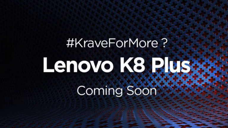 Lenovo K8 Note Plus with Dual Rear Cameras launched at Rs. 10999