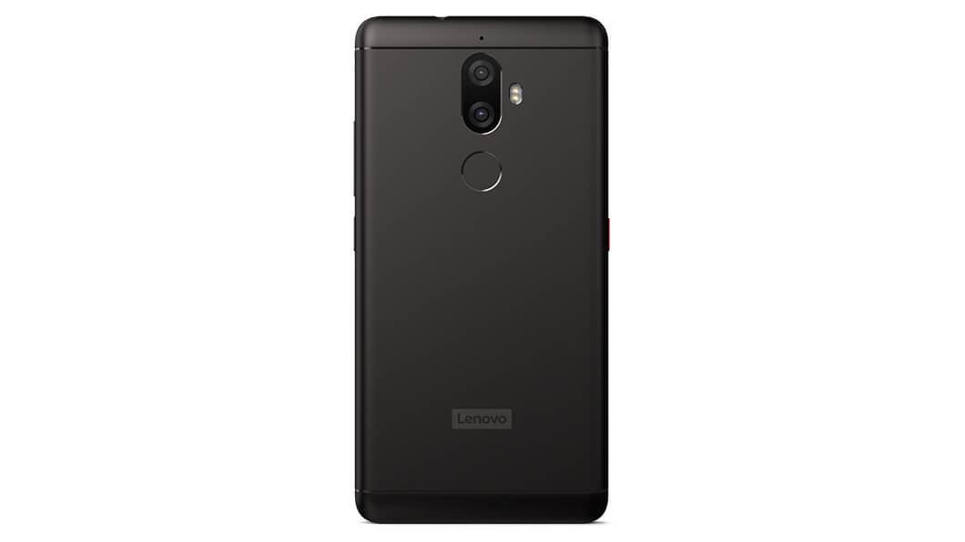 Lenovo K8 Note rear profile