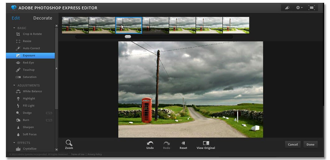 Adobe Photoshop Express Editor - Best Photoshop Alternative