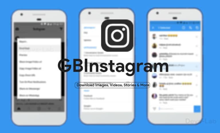 Download GBInstagram APK v1.60 for Android