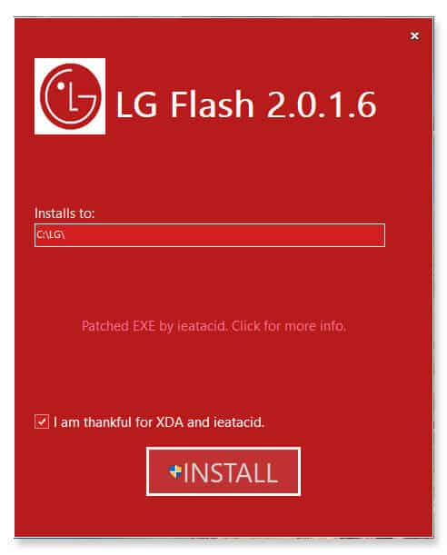 Download LG Flash Tool (LGUP) to Flash KDZ and TOT firmware