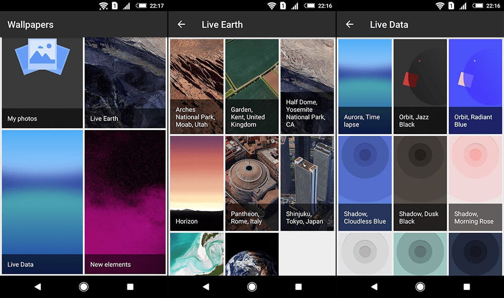 Download Official Google Pixel 2 XL Live Wallpapers