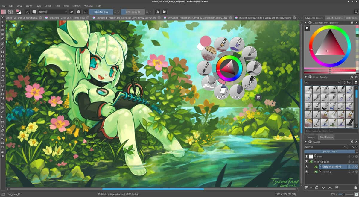 Krita-Image-editing-Software