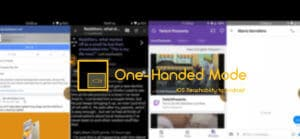 OneHanded Mode in Android to use iOS Reachability in Android
