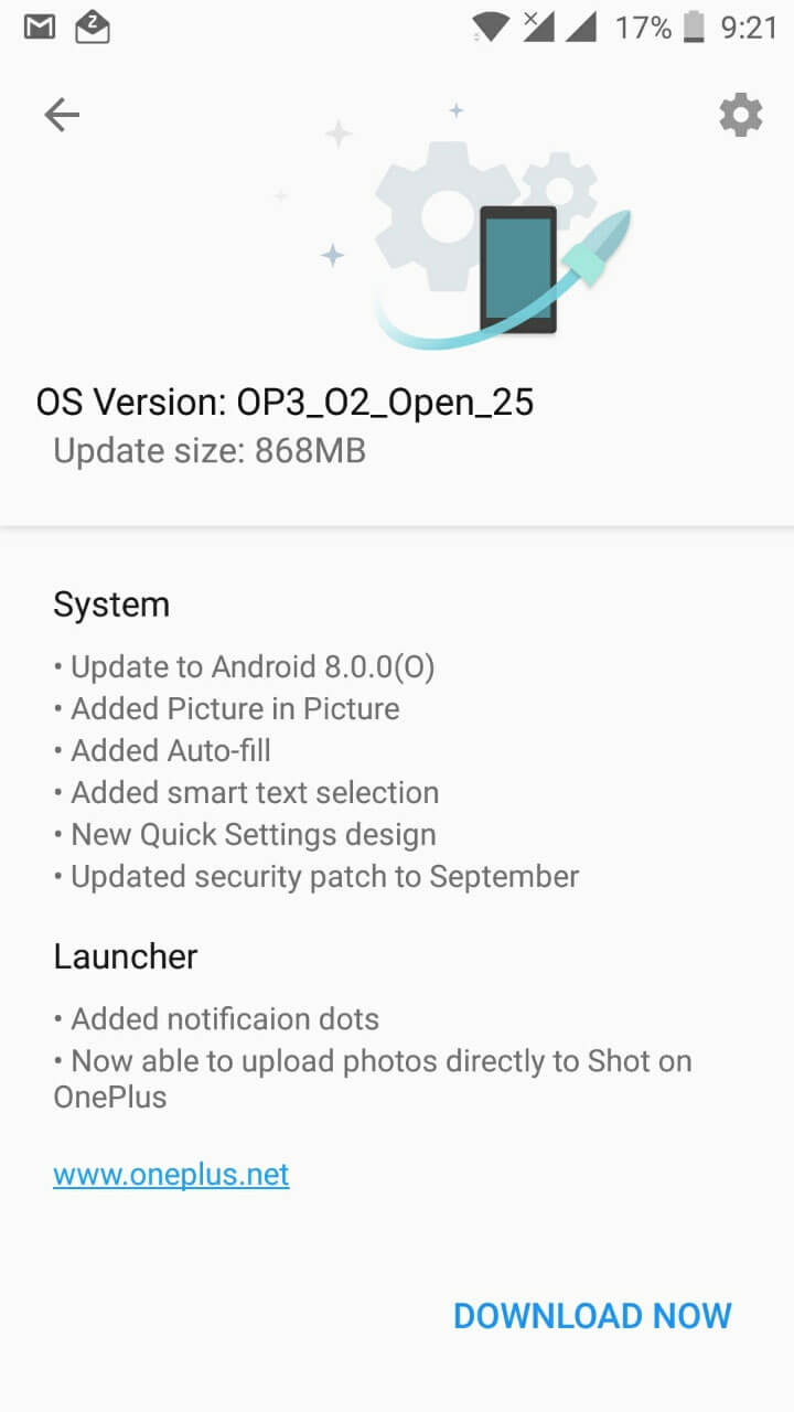 OnePlus 3 and 3T starts receiving Android Oreo Beta update