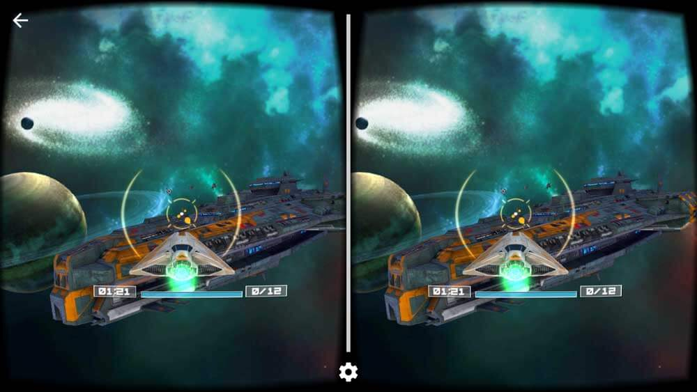 Deep Space best VR Android Game