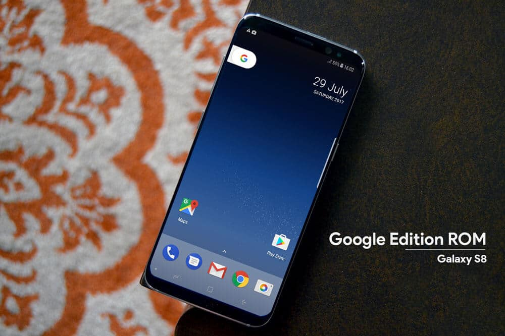Google Edition ROM for Galaxy S8