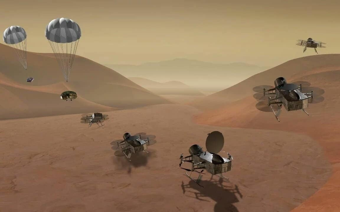 NASA to send helicopters to hunt for alien life on Titan